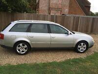 Silver Audi A6