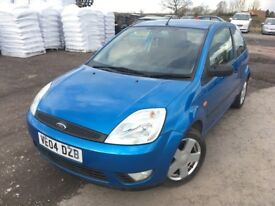 FORD FIESTA '2004' 64K MILES!, 1 OWNER FROM NEW! FULL SERVICE HISTORY 13 STAMPS, M.O.T 23-FEB-2019!!