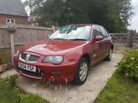 2004 Rover 25 for sale for parts or runaround