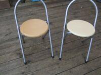 FREE - 2 x folding stools