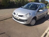 2009 RENAULT CLIO 1.2 PETROL/ 5 DOORS HATCHBACK CAR / COMES WITH ONE YEAR MOT + 3 MONTHS WARRANTY