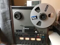 Teac A-3440 reel to reel tape machine