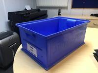 storage bins 200mm h x 300mm w x 450mm d