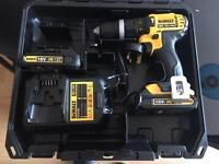 Dewalt 18v XR lithium ion combi drill