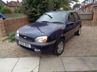 02 FIESTA FREESTYLE 1.25 ZETEC. 5 DOOR.