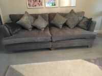 House Of Fraser Clara Sofa for sale, 4 months old