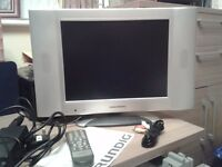"Grundig GUVL1500 15"" TV / or PC Monitor silver"