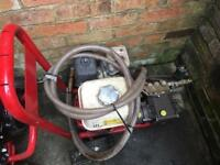 2 Honda Power jet wash and 1 generator all £650 One of them only one hour working I boated £500