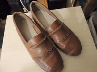 LADIES BOWLS SHOES BROWN SIZE 6