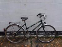 ladies womens large hybrid road city bike. large ** i can deliver **