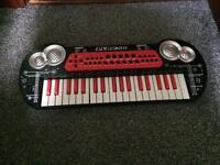 Play on kids keyboard