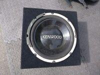 Kenwood Sub in box