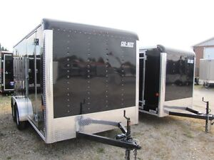 2016 Car Mate Trailers 7x14 Enclosed Cargo
