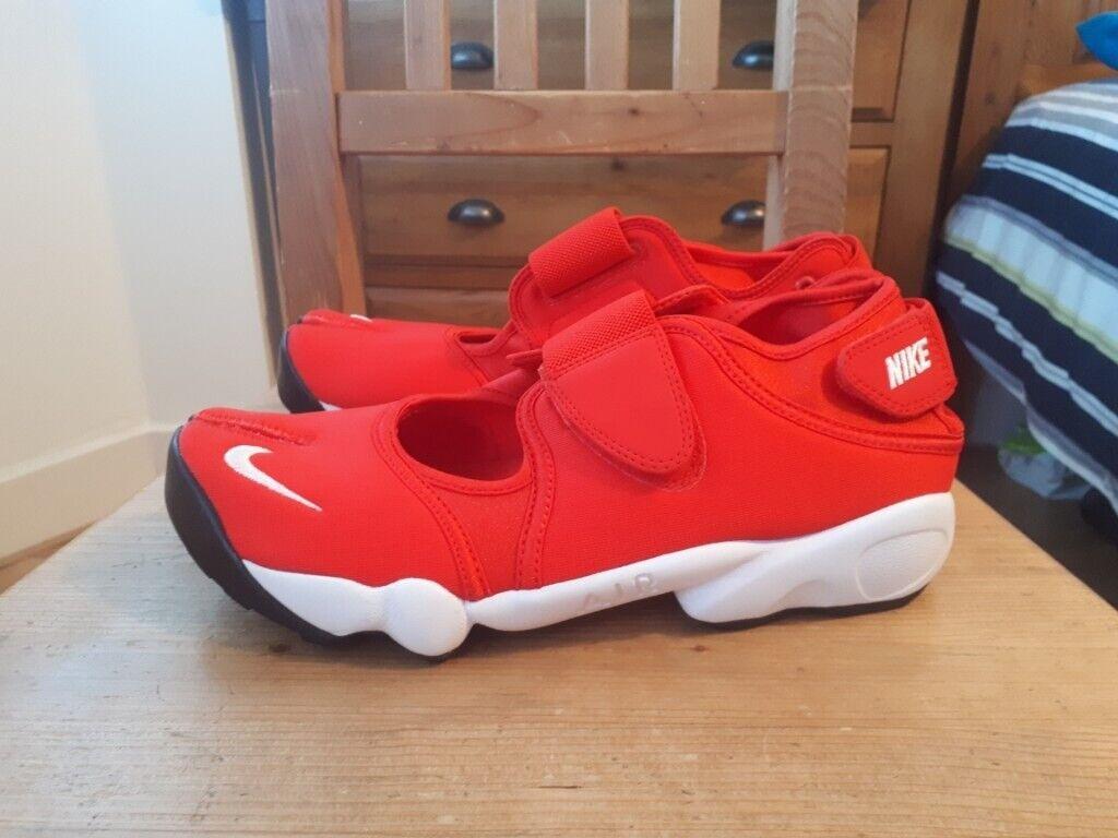 izquierda Pera demandante  Genuine Size 8 Red Off-White Nike Air Rift Trainers | in Barnes, London |  Gumtree