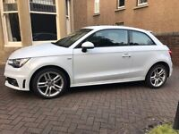 Audi A1 S-Line 1.6 Tdi. 64 Plate, Zero road tax 60+ mpg. Manufacturers warranty until Sept 2017