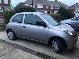 Nissan Micra low mileage