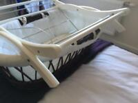 Moses basket plus cot bedding