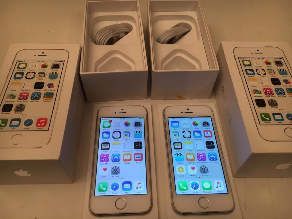 iPhone 5s 16gb and 32gbunlocked boxed160 eachin Exeter, DevonGumtree - iPhone 5s silver 16gb factory unlocked boxed £160 iPhone 5s gold 32gb factory unlocked boxed £185 Exeter