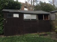 Large garden shed/potting shed