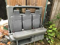 Crew van rear seats