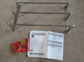 3 tier towel rail with fittings