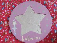 PINK BALLERINA STAR MIRROR