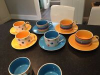 Whittard of Chelsea cup and saucer set immaculate condition