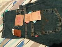 Mens Levi 582 Jeans Brand New 34w 32l
