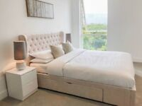 SPACIOUS 2 BEDROOM WITH UNDERFLOOR HEATING & BALCONY IN CLAREMONT HOUSE, LONDON SQUARE, CANADA WATER