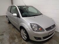 FORD FIESTA , 2008/58 REG , LOW MILEAGE + FULL HISTORY , YEARS MOT , FINANCE AVAILABLE , WARRANTY