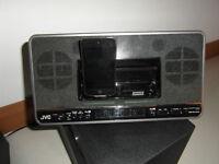 JVC Ipod and FM Radio Speaker