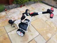 Electric Golf Trolley with 27 hole battery
