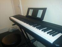 Yamaha p-45 Digital Piano Bundle (piano, stand, sustain pedal & stool)