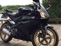 yamaha yzf 125 2011, 61plate, 11 months MOT, amazing bike 2000 Ono