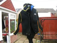 Spartan wet suit Jacket with hood and boots