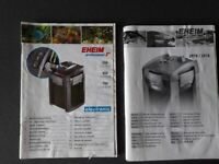 Eheim Professional 3e 700 External Filter Fish Tank