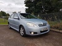 TOYOTA COROLLA VVTI T3 FULL YEARS MOT FINANCE &WARRANTY AVAILABLE