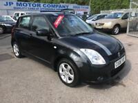 2006 SUZUKI SWIFT VVTI GLS BLACK NEW MOT LOW MILEAGE CHEAP SMALL CAR