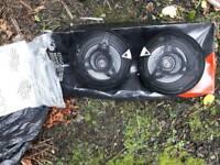 BN Kenwood pair of speakers 120w