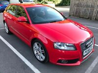 2008(58) Audi A3 Hatchback Facelift 2.0 TDI S Line Sportback Quattro 170bhp 5dr With full s.history