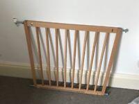 Baby Dan wooden stair gate