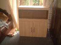 brand new 3ft vivarium and cabinet in montana oak