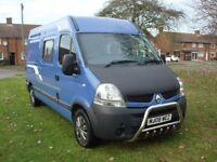 2008 MWB Renault Master Van Campervan. EXCELLENT CONDITION