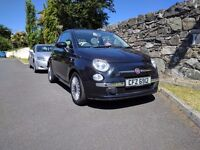 2010 FIAT 500 LOUNGE ONLY 41934 MILES £30 PER YEAR ROAD TAX FULL YEARS MOT