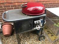 Globe BBQ For Sale With Half Full Gas Bottle