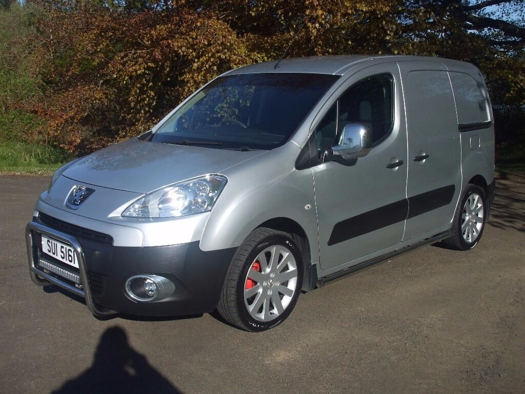 2010 peugeot partner 1 6 hdi 3 seater psv feb 2018 17 alloys side bars front bar led light in. Black Bedroom Furniture Sets. Home Design Ideas