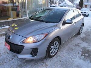 2012 Mazda 3 hatchback 4 door automatic air cond SALE $7,750