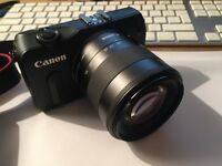 Canon EOS M Digital Camera with 18-55mm lens