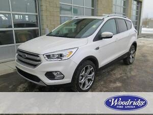 2017 Ford Escape Titanium 4WD, LEATHER, NAV, BACKUP CAM