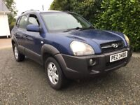 2006 Hyundai Tucson crtd cdx 4x4 excellent jeep very clean serviced trade in considered cookstown